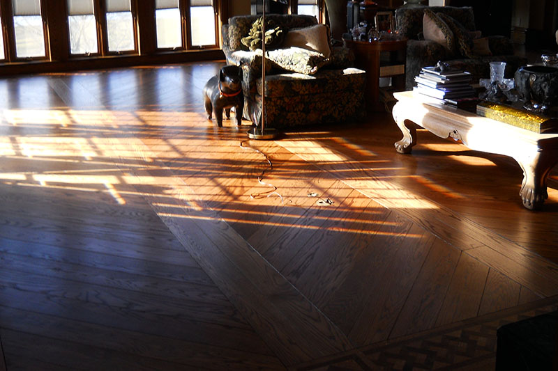 Unfinished hardwood flooring in knoxville auten for Hardwood floors knoxville tn
